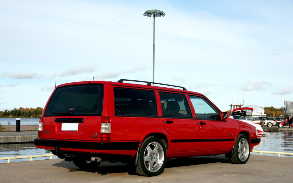 "945 Classic -98 ""Talviklassikko""...kesä tuli, auto meni!"